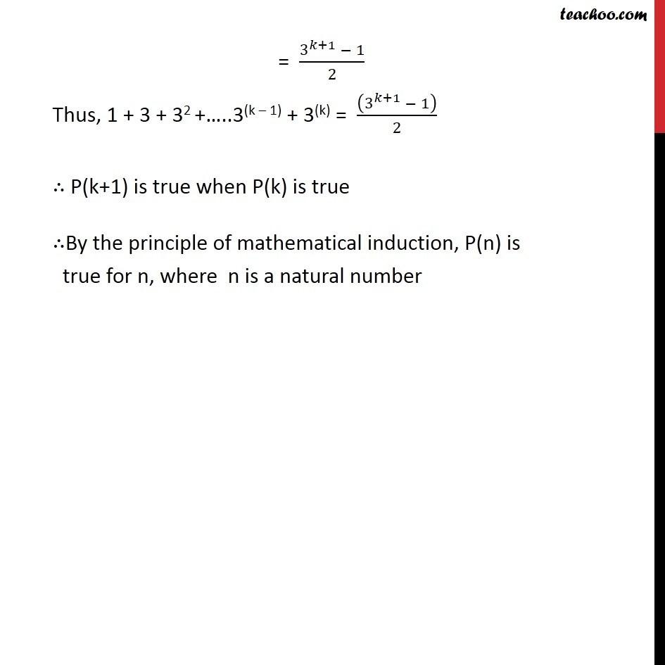 Ex 4.1, 1 - Chapter 4 Class 11 Mathematical Induction - Part 3