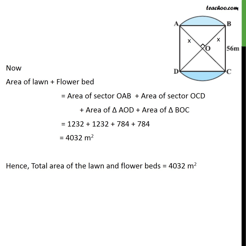 Example 4 - Chapter 12 Class 10 Areas related to Circles - Part 9