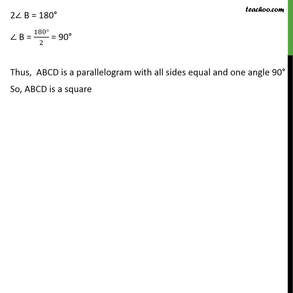 Ex 8.1, 5 - Chapter 8 Class 9 Quadrilaterals - Part 4