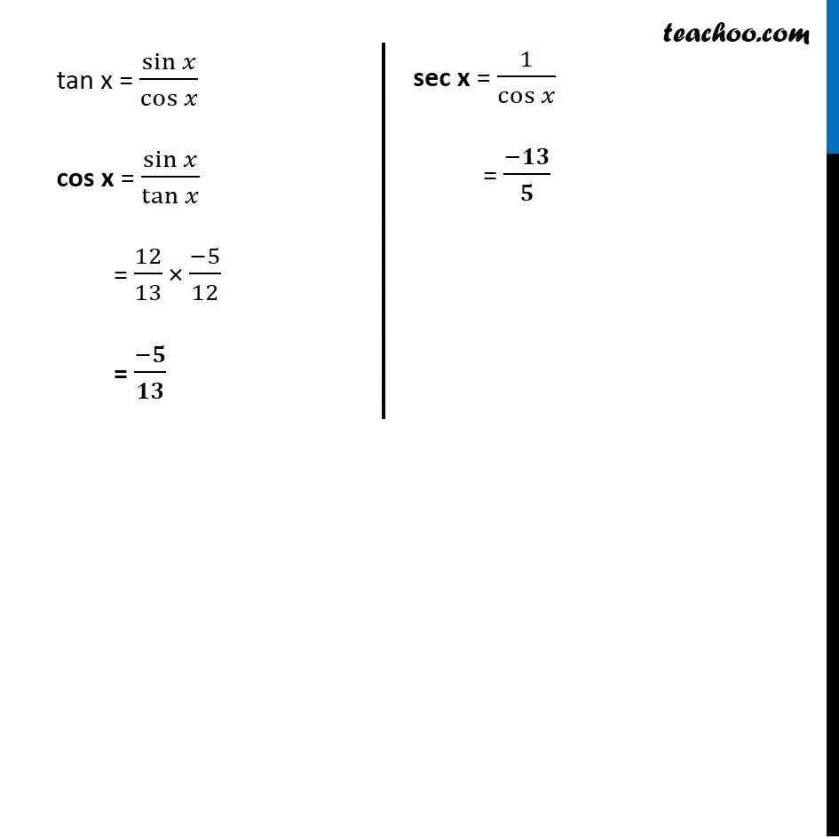 Example 7 - Chapter 3 Class 11 Trigonometric Functions - Part 4