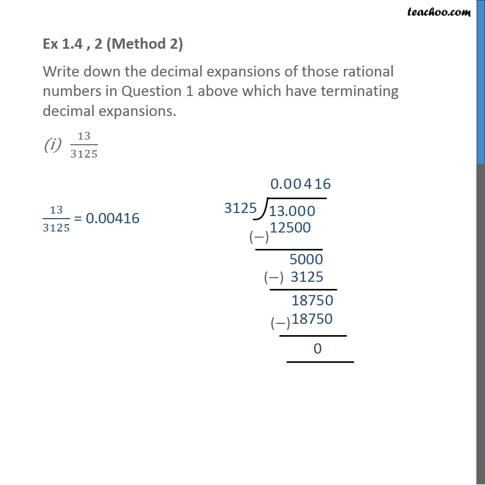 Ex 1.4, 2 - Chapter 1 Class 10 Real Numbers - Part 3