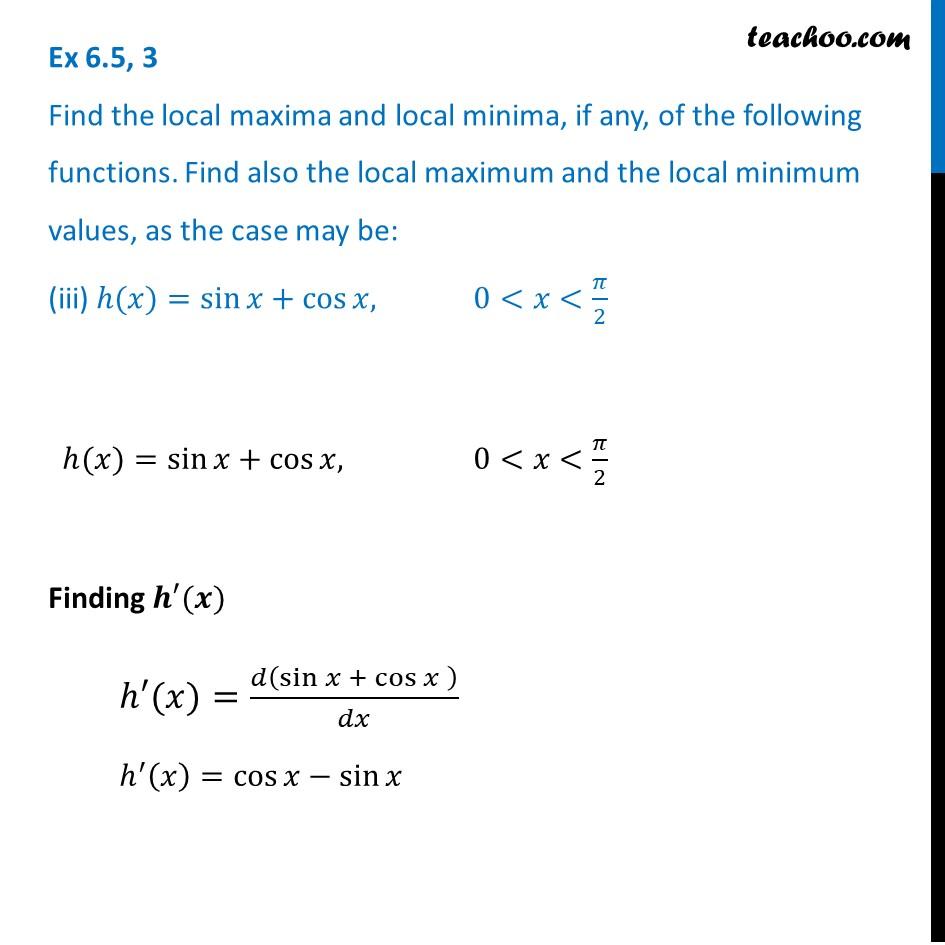 Ex 6.5,3 - Chapter 6 Class 12 Application of Derivatives - Part 6