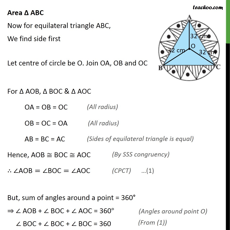Ex 12.3, 6 - Chapter 12 Class 10 Areas related to Circles - Part 2