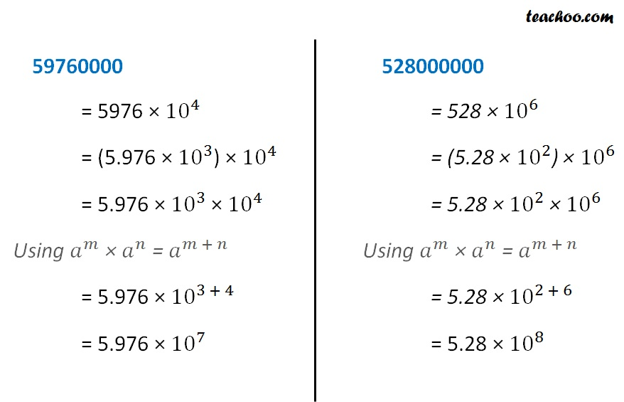 standard form images  Writing numbers in standard form - both small and large numbers