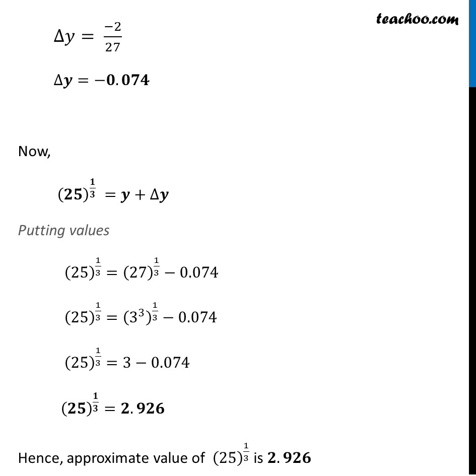 Example 22 - Chapter 6 Class 12 Application of Derivatives - Part 3