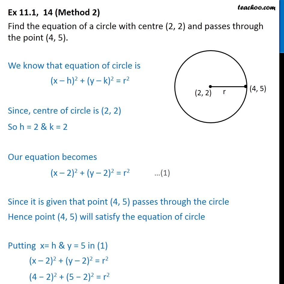 Ex 11.1,  14 - Chapter 11 Class 11 Conic Sections - Part 3