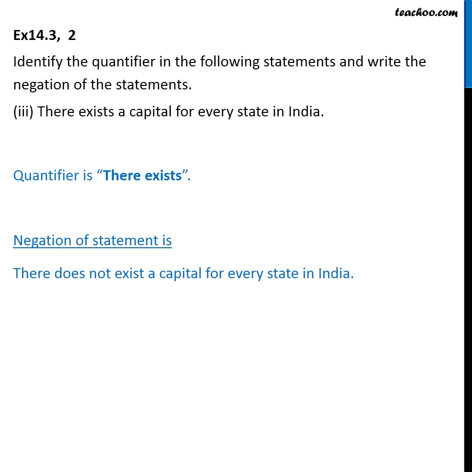 Ex 14.3, 2 - Chapter 14 Class 11 Mathematical Reasoning - Part 3