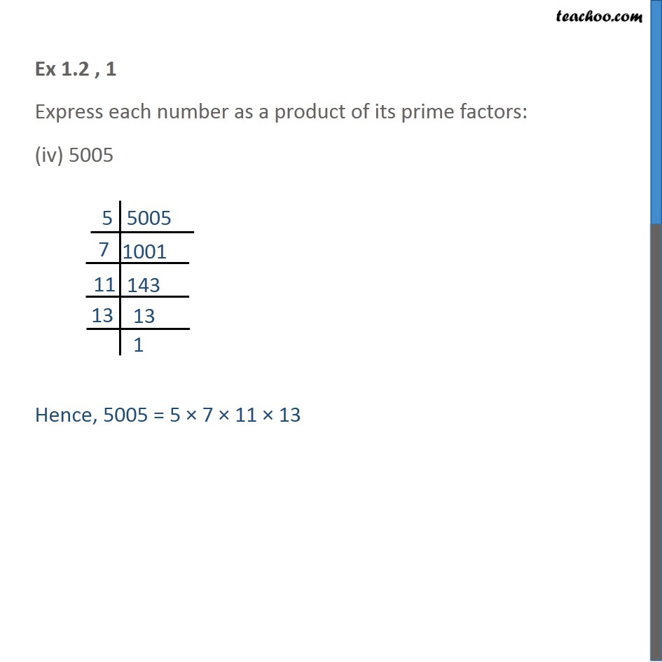 Ex 1.2, 1 - Chapter 1 Class 10 Real Numbers - Part 4