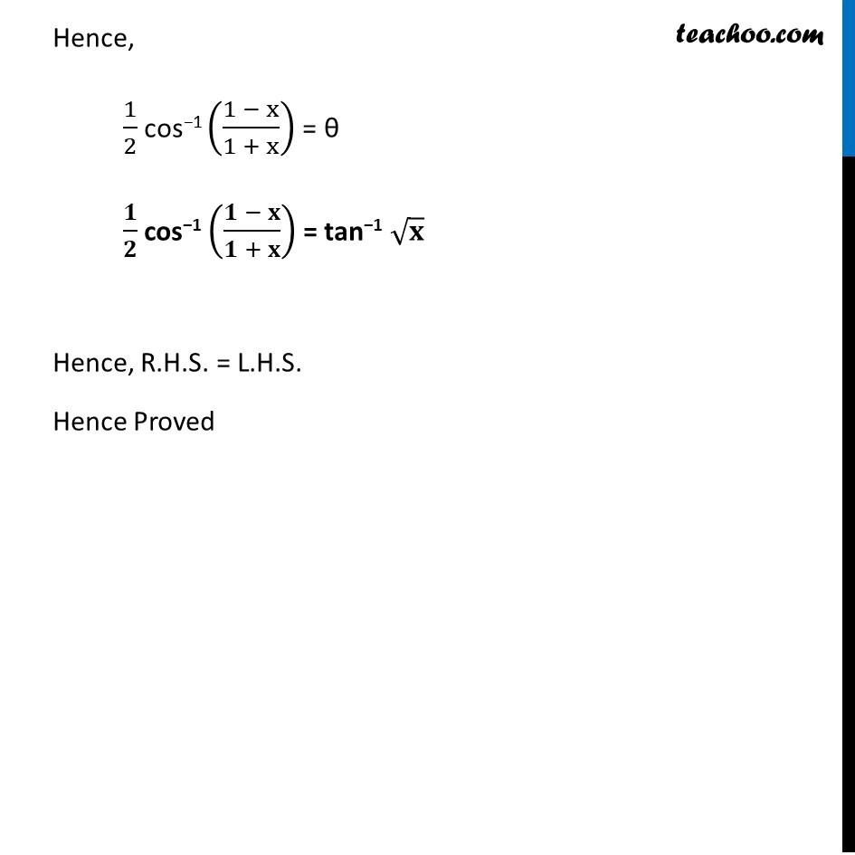 Misc. 9 - Chapter 2 Class 12 Inverse Trigonometric Functions - Part 3