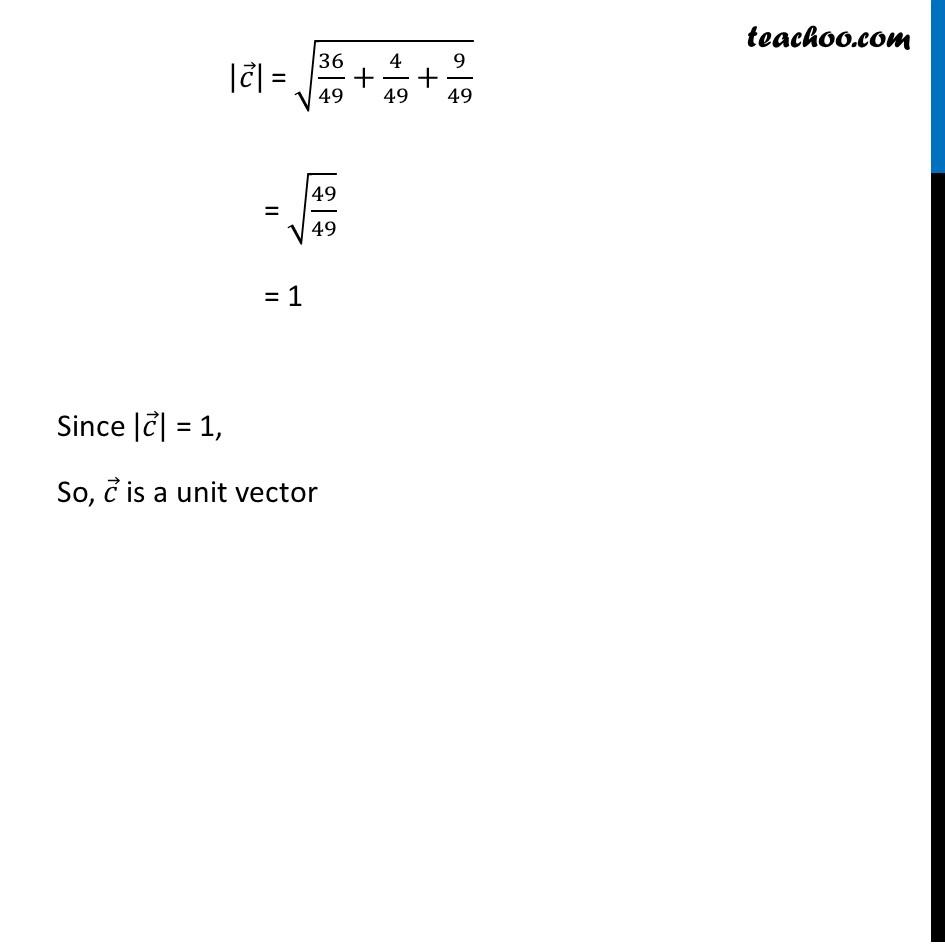 Ex 10.3, 5 - Chapter 10 Class 12 Vector Algebra - Part 3