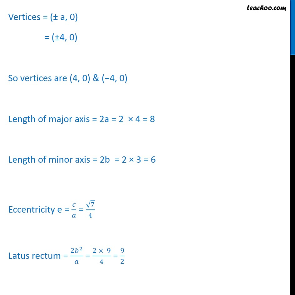 Ex 11.3,  3 - Chapter 11 Class 11 Conic Sections - Part 3