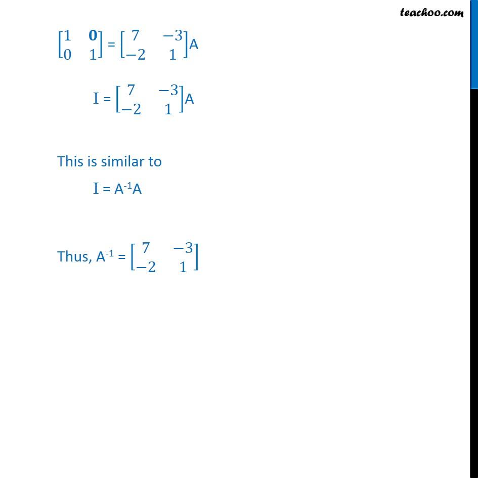 Ex 3.4, 3 - Chapter 3 Class 12 Matrices - Part 2