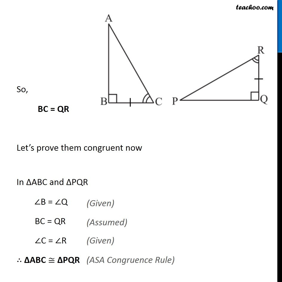Ex 7.2, 9 - Chapter 7 Class 7 Congruence of Triangles - Part 3