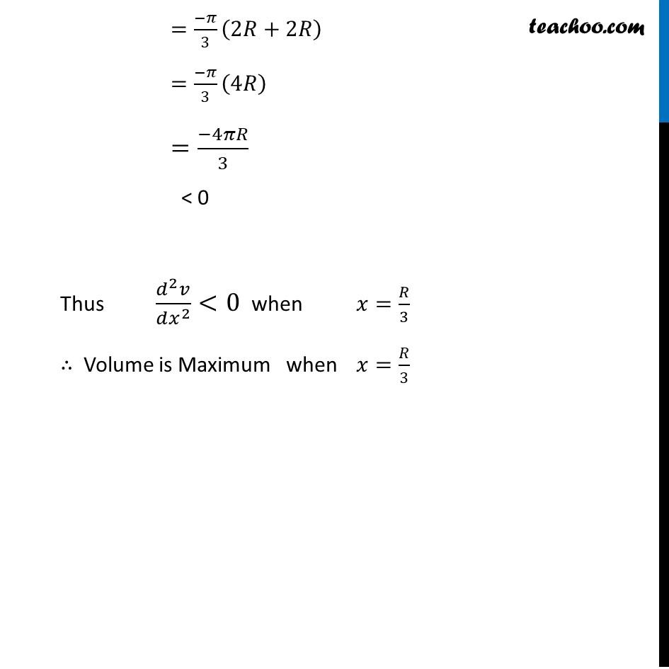 Ex 6.5,23 - Chapter 6 Class 12 Application of Derivatives - Part 6
