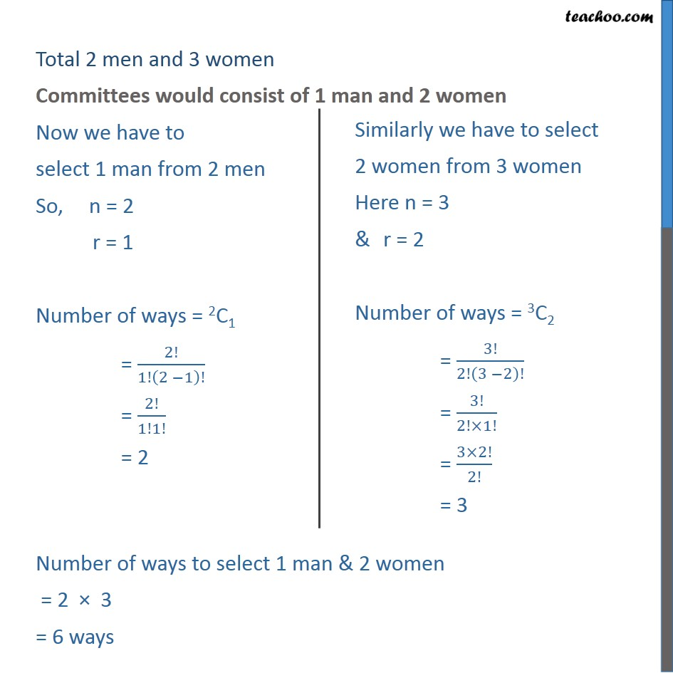 Example 18 - Chapter 7 Class 11 Permutations and Combinations - Part 2