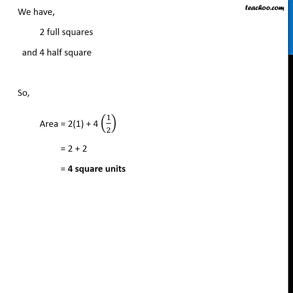 Ex 10.2, 1 (f) - Chapter 10 Class 6 Mensuration - Part 2