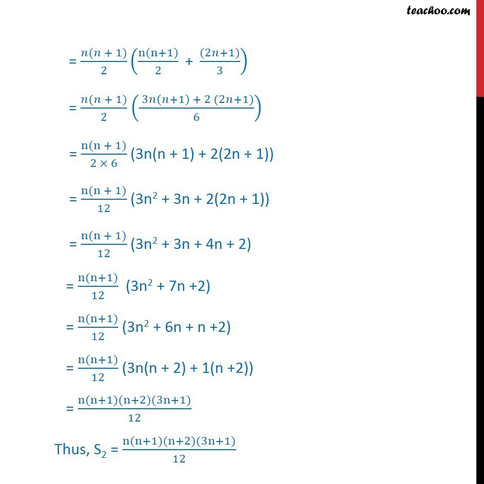 Misc 26 - Chapter 9 Class 11 Sequences and Series - Part 5