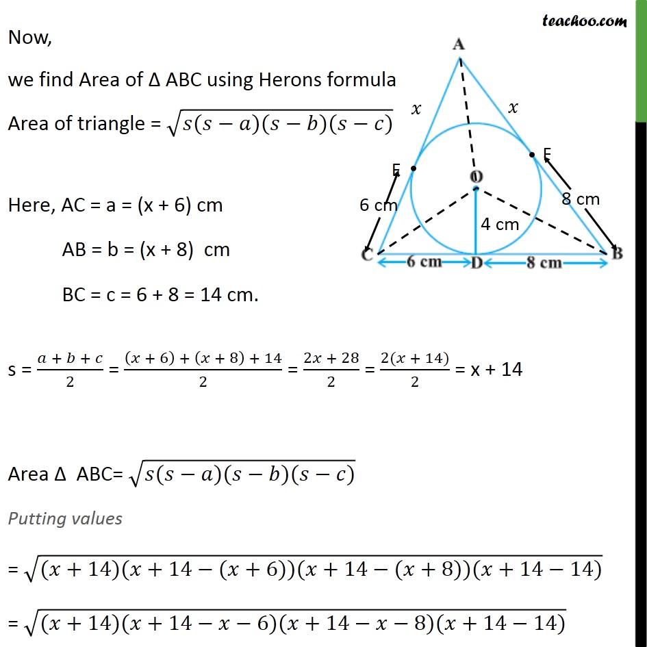 Ex 10.2, 12 - Chapter 10 Class 10 Circles - Part 3