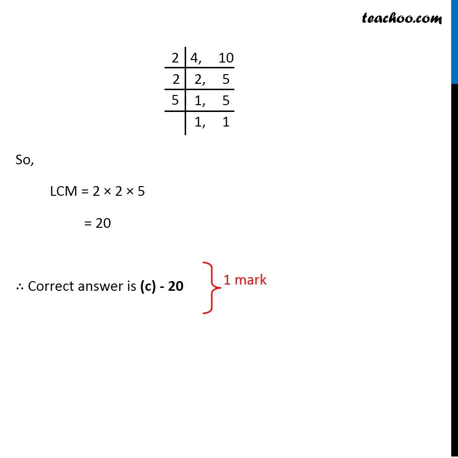 Question 3 - CBSE Class 10 Sample Paper for 2020 Boards - Maths Standard - Part 2