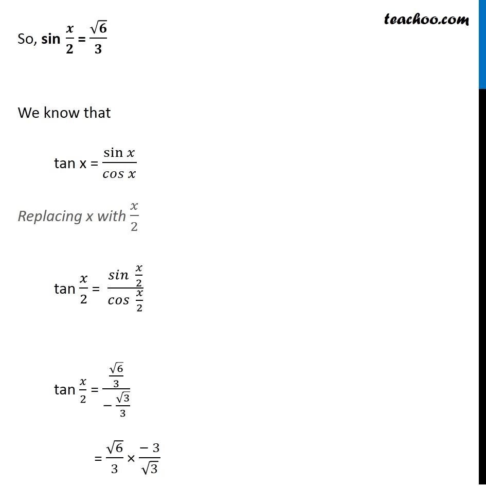 Misc 9 - Chapter 3 Class 11 Trigonometric Functions - Part 7