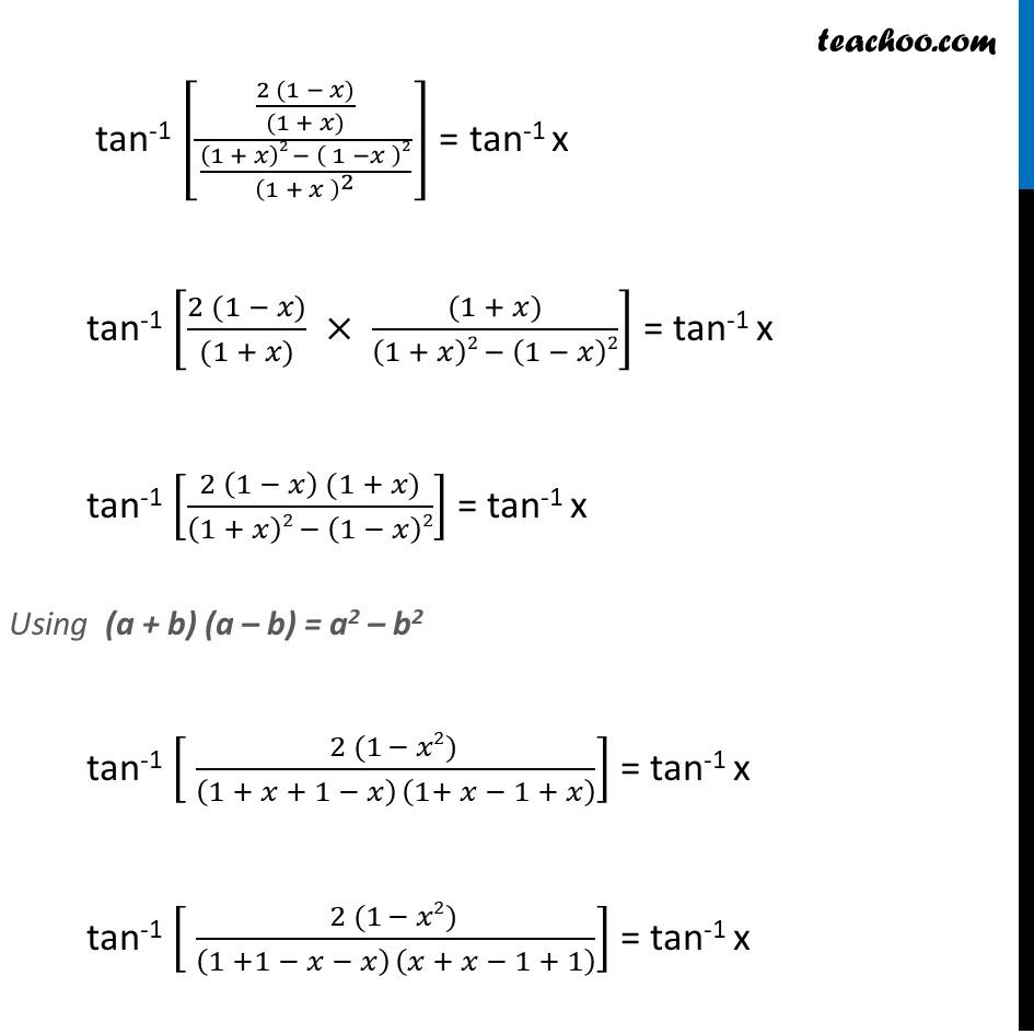 Misc. 14 - Chapter 2 Class 12 Inverse Trigonometric Functions - Part 2