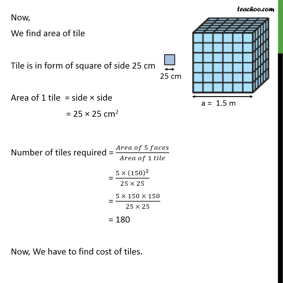Example 2 - Chapter 13 Class 9 Surface Areas and Volumes - Part 2