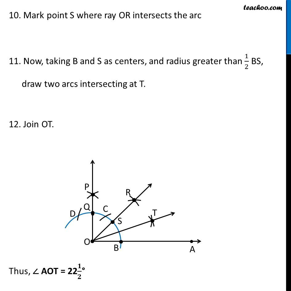 Ex 11.1, 3 (ii) - Chapter 11 Class 9 Constructions - Part 5