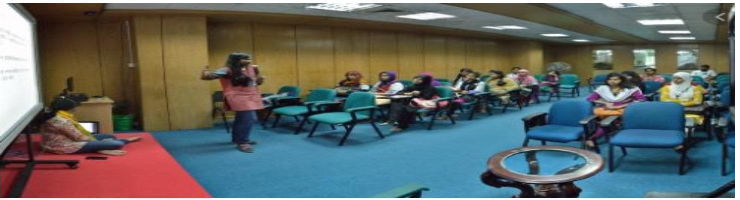 A seminar is being conducted by an Educational - Teachoo.jpg
