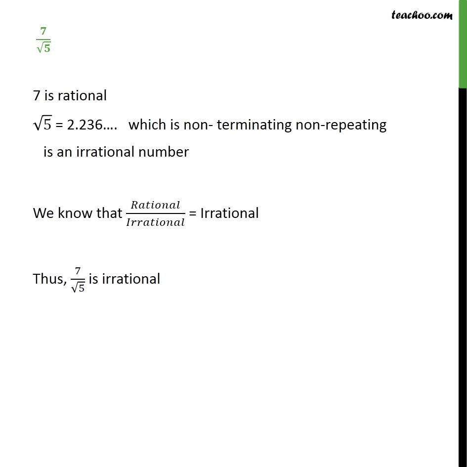 Example 12 - Chapter 1 Class 9 Number Systems - Part 2