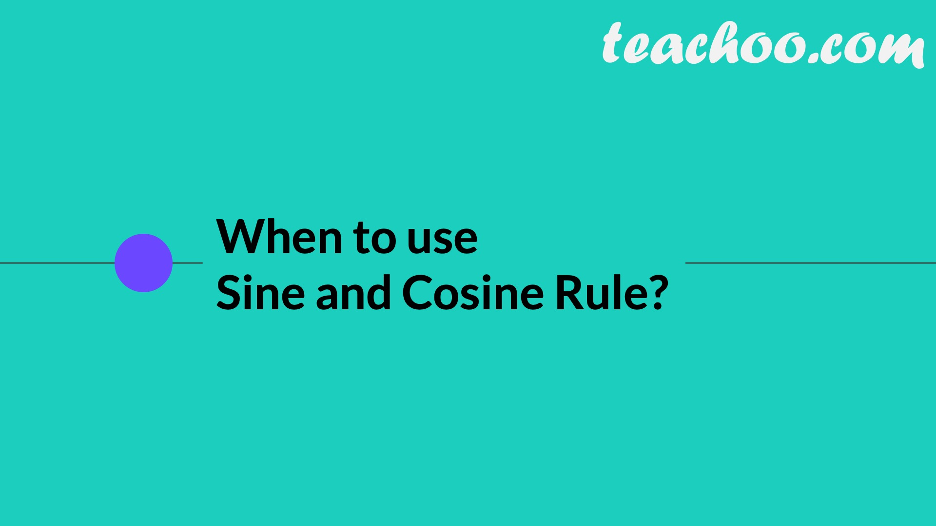 Law of Cosine (Cosine Law) - Part 13
