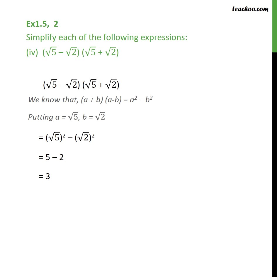 Ex 1.5,2 - Chapter 1 Class 9 Number Systems - Part 4