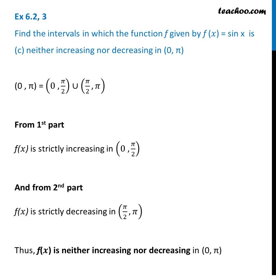 Ex 6.2,3 - Chapter 6 Class 12 Application of Derivatives - Part 3