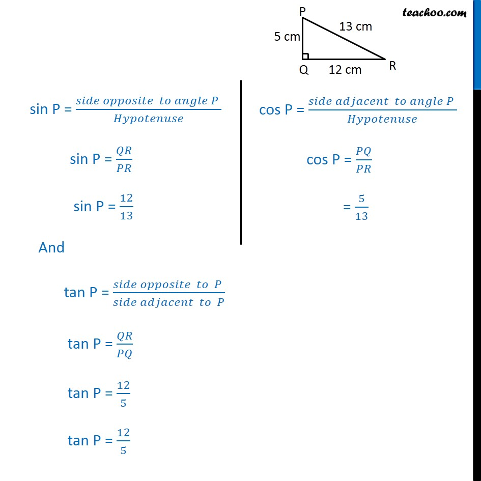 Ex 8.1, 10 - Chapter 8 Class 10 Introduction to Trignometry - Part 3