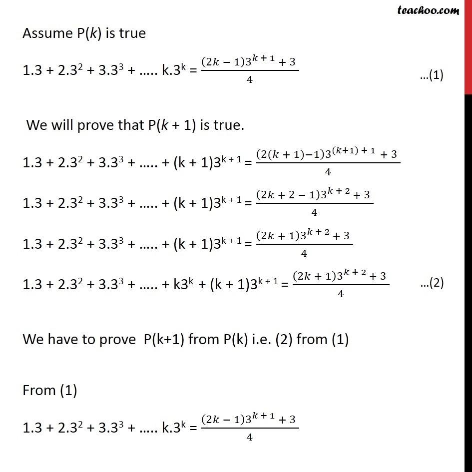 Ex 4.1, 5 - Chapter 4 Class 11 Mathematical Induction - Part 2