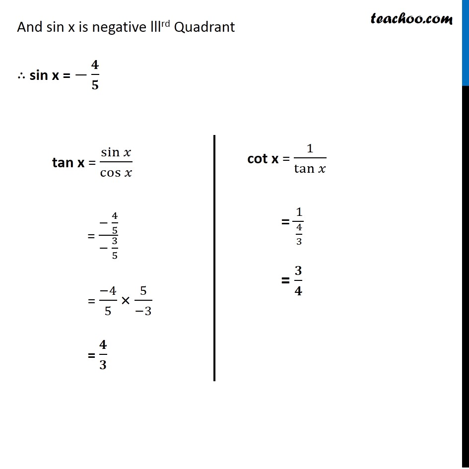 Example 6 - Chapter 3 Class 11 Trigonometric Functions - Part 3