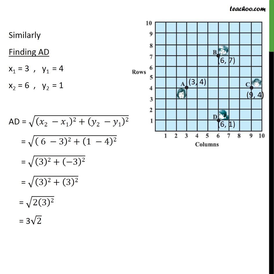 Ex 7.1, 5 - Chapter 7 Class 10 Coordinate Geometry - Part 5