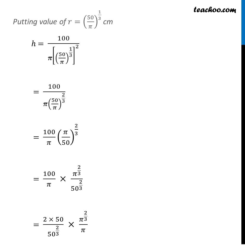 Ex 6.5,21 - Chapter 6 Class 12 Application of Derivatives - Part 7