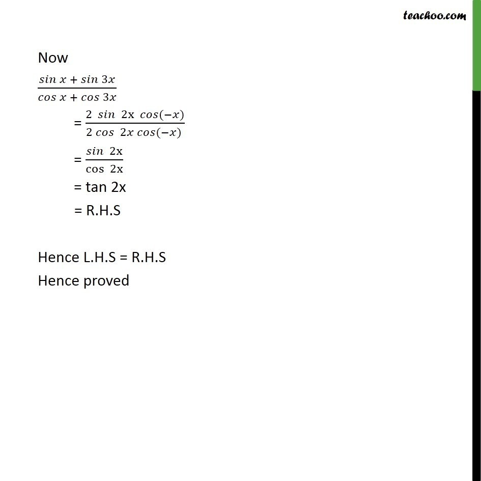 Ex 3.3, 19 - Chapter 3 Class 11 Trigonometric Functions - Part 2