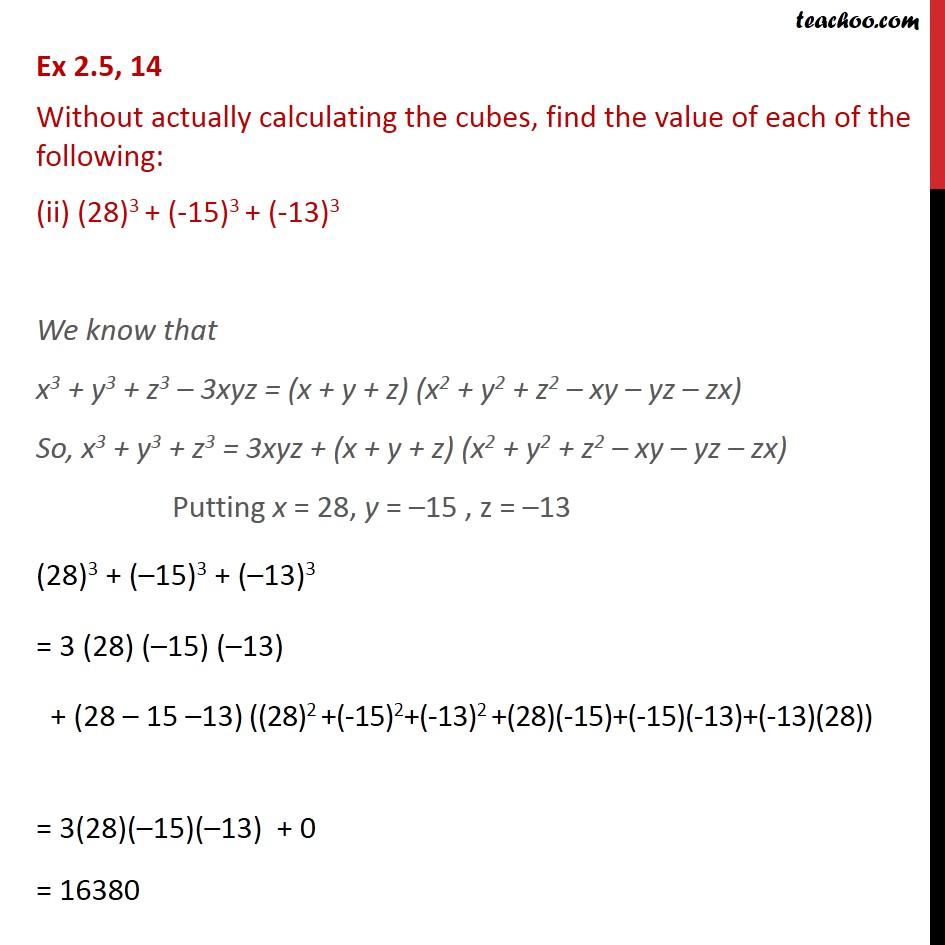 Ex 2.5,14 - Chapter 2 Class 9 Polynomials - Part 2