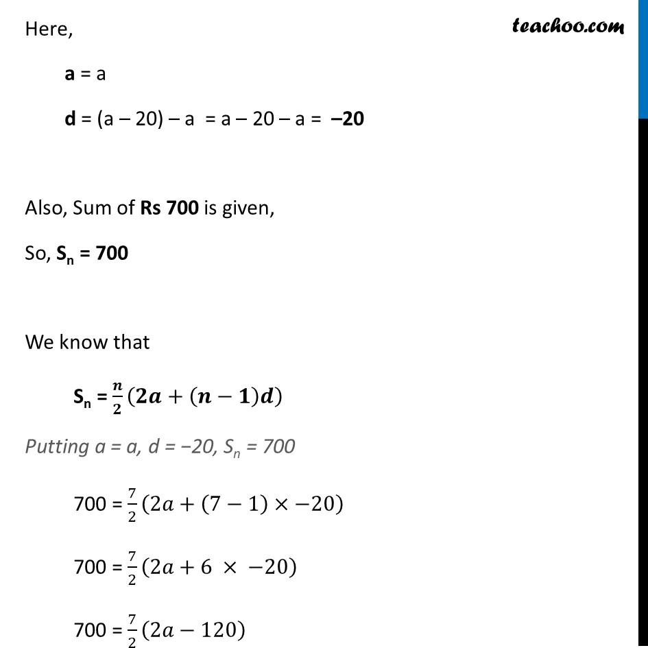 Ex 5.3, 16 - Chapter 5 Class 10 Arithmetic Progressions - Part 2
