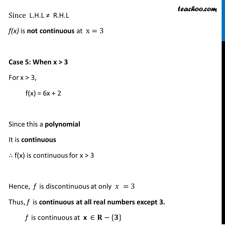Ex 5.1 ,7 - Chapter 5 Class 12 Continuity and Differentiability - Part 6