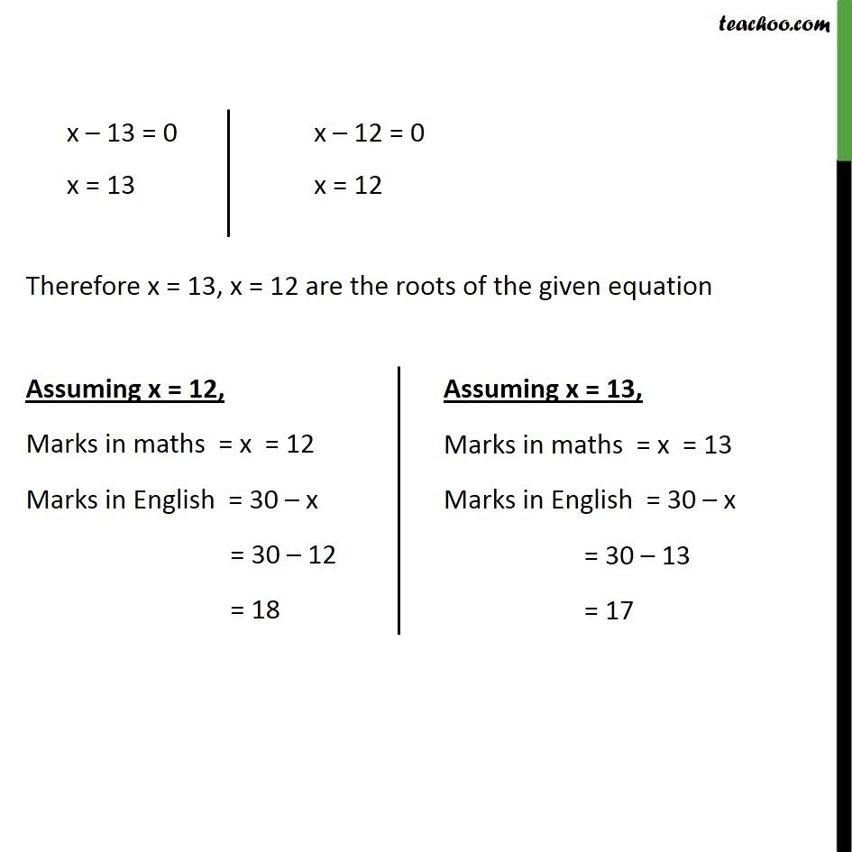 Ex 4.3, 5 - Chapter 4 Class 10 Quadratic Equations - Part 3