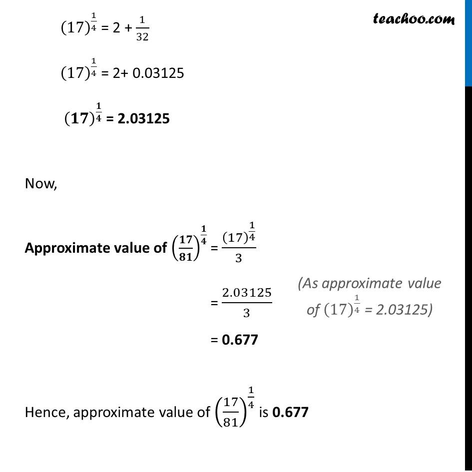Misc 1 - Chapter 6 Class 12 Application of Derivatives - Part 4