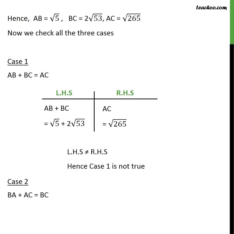 Ex 7.1, 3 - Chapter 7 Class 10 Coordinate Geometry - Part 5