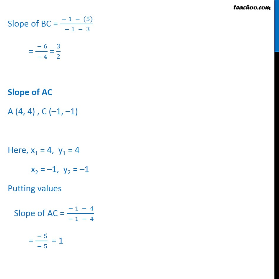 Ex 10.1, 6 - Chapter 10 Class 11 Straight Lines - Part 3