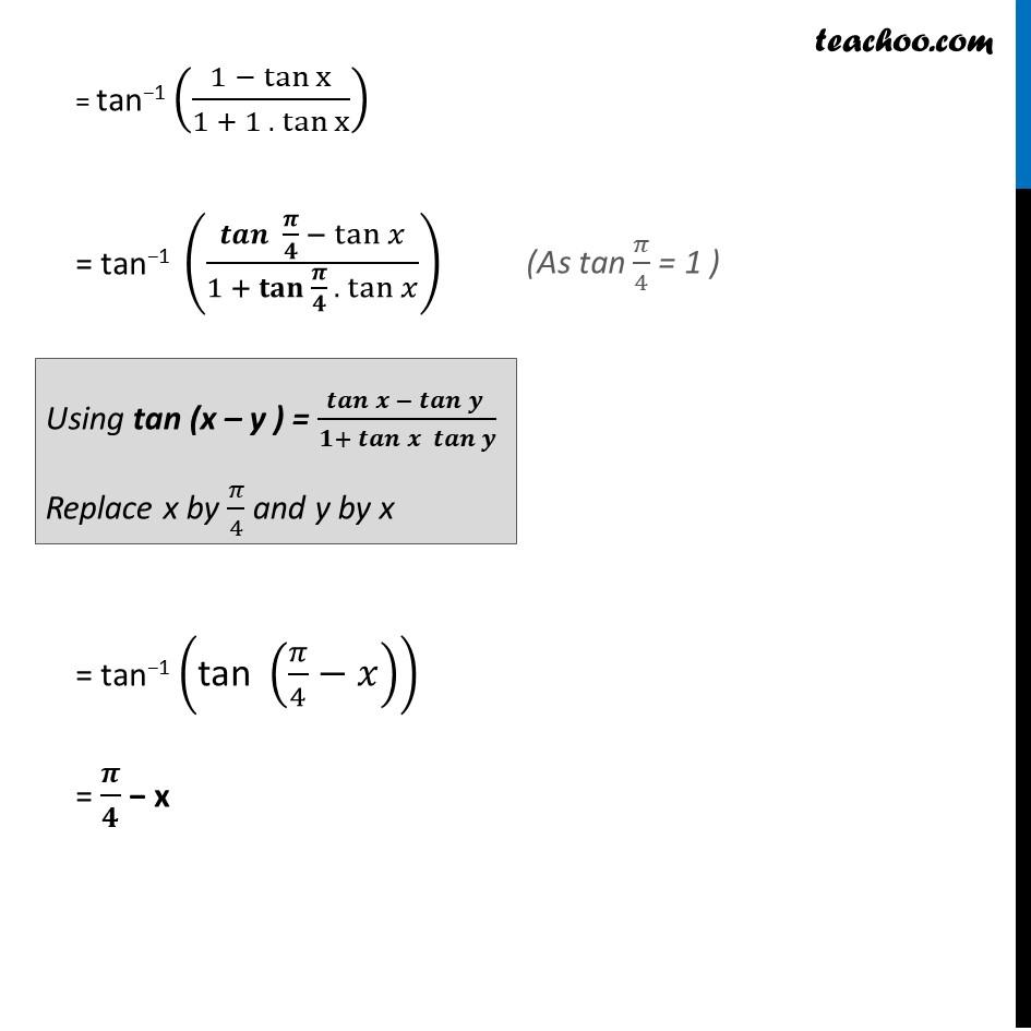 Ex 2.2, 8 - Chapter 2 Class 12 Inverse Trigonometric Functions - Part 2