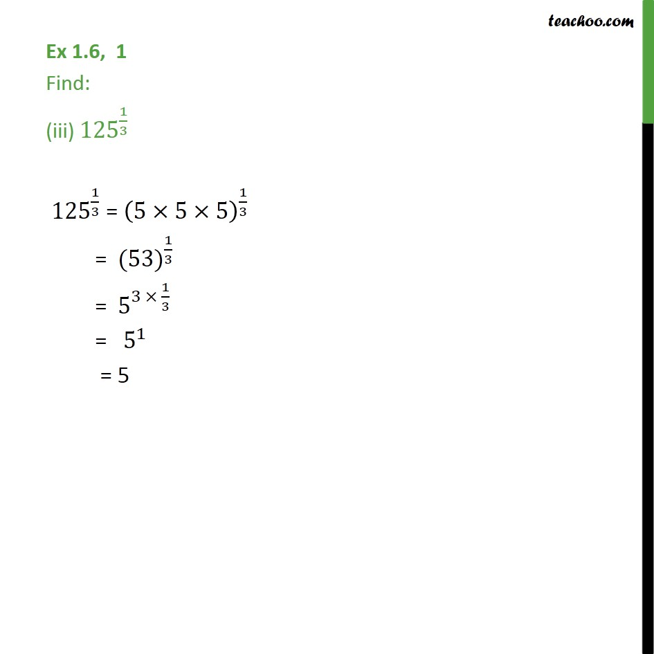 Ex 1.6,1 - Chapter 1 Class 9 Number Systems - Part 3