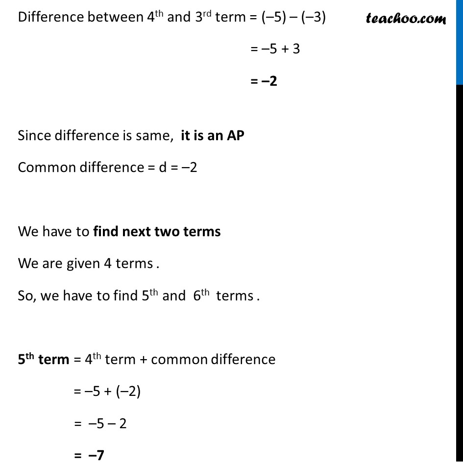 Example 2 - Chapter 5 Class 10 Arithmetic Progressions - Part 5