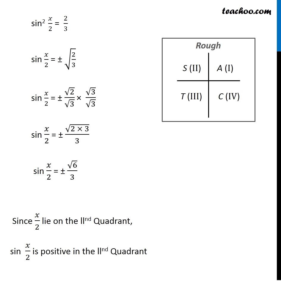 Misc 9 - Chapter 3 Class 11 Trigonometric Functions - Part 6