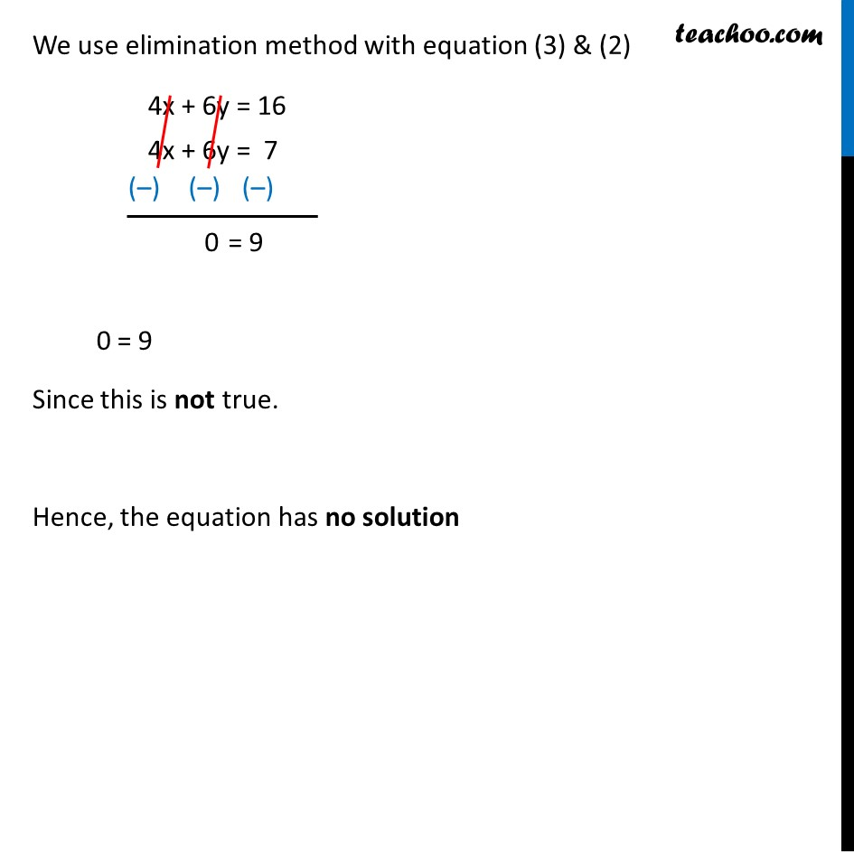 Example 12 - Chapter 3 Class 10 Pair of Linear Equations in Two Variables - Part 2